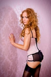 Sophia high class redhead