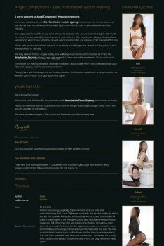 Top Rated Escort agency in Manchester - Angel