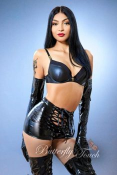 Excellent Mistress skilled in Art of Tease... : Camila has model look, toned slim body and pretty face with a high cheeks. With her you would explore classical Domination