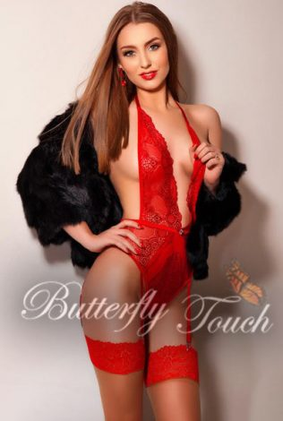 Bianka - Ultimate London escort, Bianka is a lovely slim brown haired hottie from Russia who can fulfil your sexual desires and guarantee unforgettable experience.